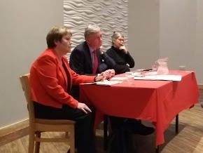 Rhoda Grant MSP & Richard Leonard MSP Leader of the Labour party in Scotland