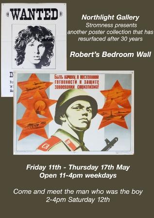 Robert's Bedroom Wall
