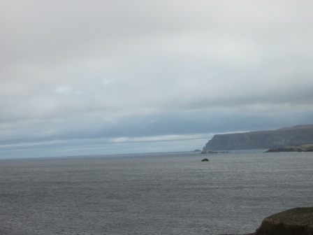 Smoo cave down the coast B Bell