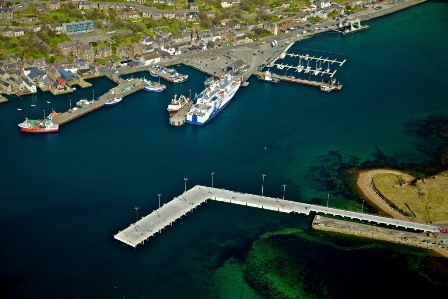Stromness - photograph taken by Orkney Islands Council