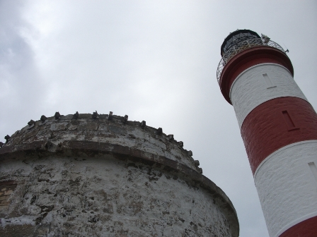Two Lighthouses W Isles B Bell