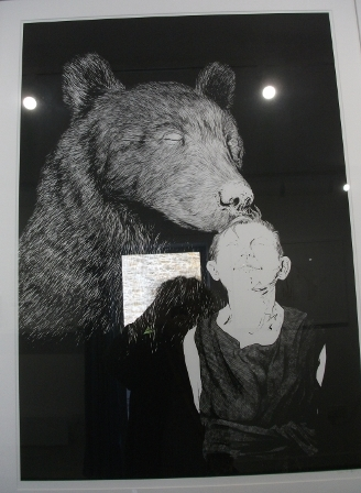 Bears Hardiman exhibition B Bell