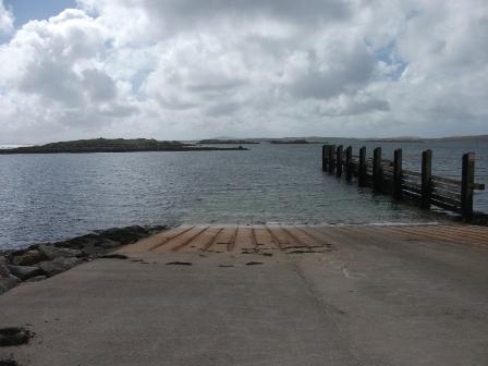 Leverburgh pier B Bell