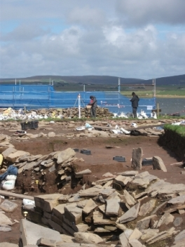 Ness of Brodgar Dig B Bell