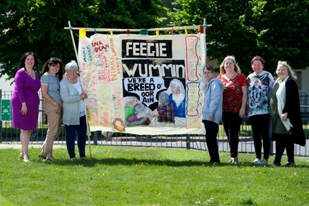 Ferguslie Womans Banner 30.5.18