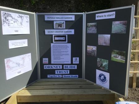 Secret Garden info board