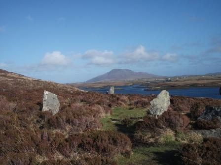 stone circle Lewis B Bell