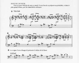 Vexations erik satie piano sheet