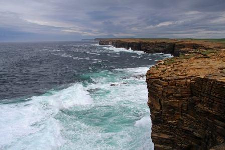 cliffs  by Petra Jochen Bruckhaus