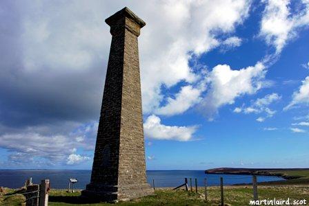 Covenanters memorial in Deerness