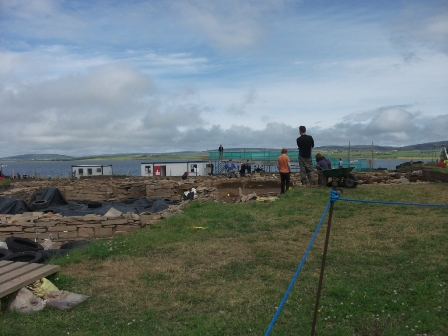 Ness of Brodgar - across the site B Bell