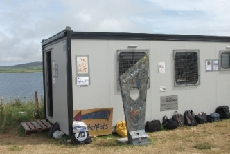 Ness of Brodgar - art cabin B Bell
