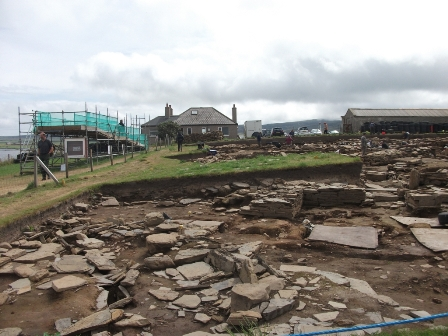 Ness of Brodgar - LHS July 2018 B Bell