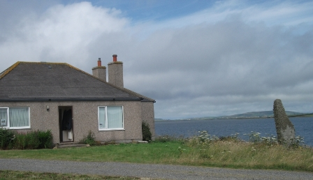 Ness of Brodgar - Loch View House B Bell