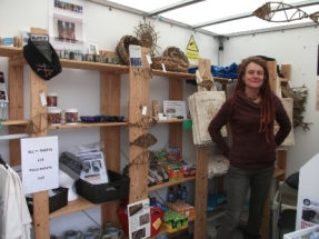 Ness of Brodgar - Sam in the shop B Bell