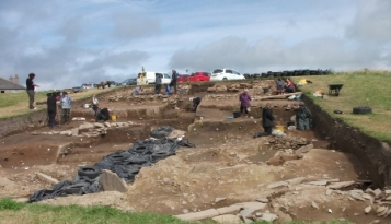 Ness of Brodgar - Trench T B Bell