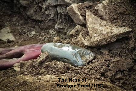 Ness of Brodgar stone axe