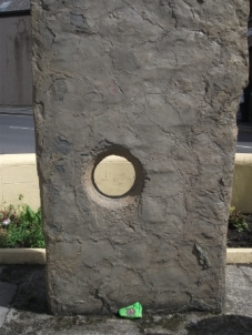 Orkney Experience Odin Stone outside B Bell
