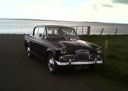 Sunbeam Rapier classic car B Bell