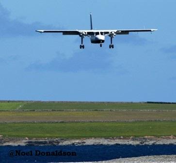Westray plane