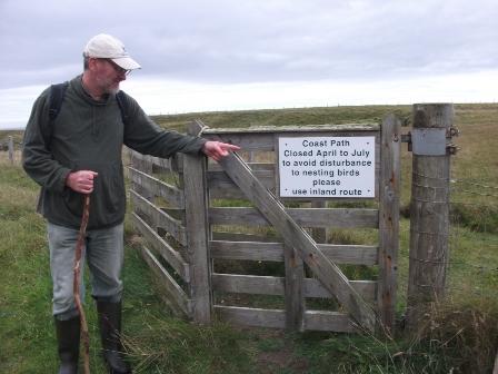 coastal path Holm B Bell