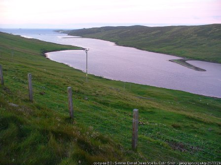 Dales Voe Shetland by Colin Smith