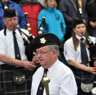 Kirkwall City Pipe band 3