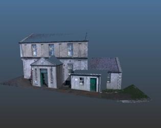 Stromness museum 3D scanning