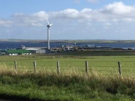 wind turbine Hatston