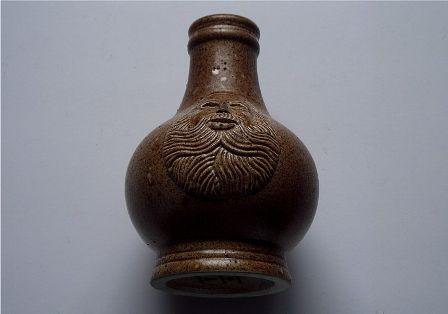 Bellarmine Stoneware Witch Bottle