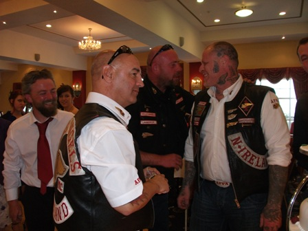 Hells Angels with tattoos B Bell