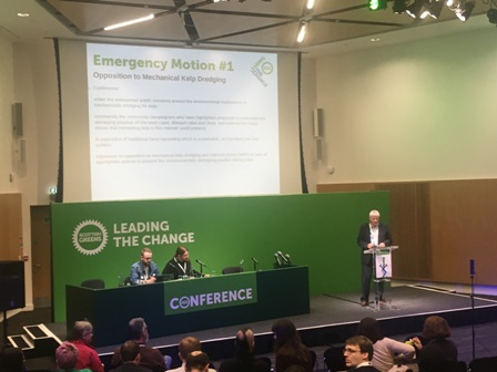 John Finnie at Greens Conference