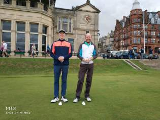 Iain & Ryan Wilkie at St Andrews