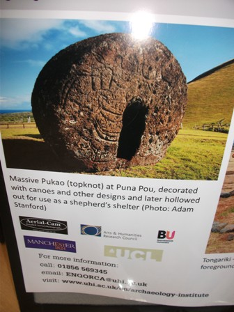 Topknot Easter Island B Bell