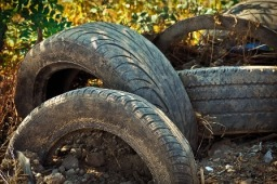tyres waste