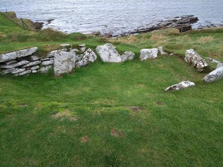 Viking grave Broch of Gurness FG