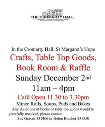 Cromarty Hall crafts