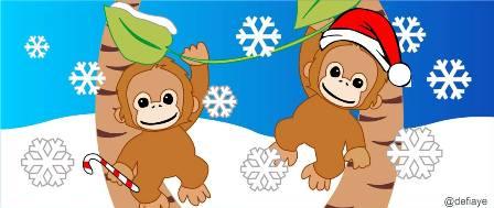 Orangutan Christmas