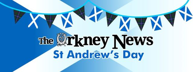 Orkney News St Andrews Day Banner
