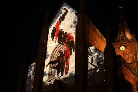 Orkney WW1 projection - media one