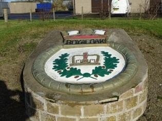 Scapa Royal Oak plaque B Bell