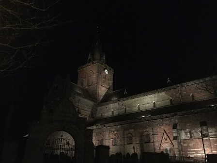 St Magnus at night