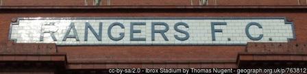 Glasgow Rangers Football Thomas Nugent