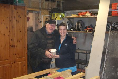 Mens Shed donation from Balfour