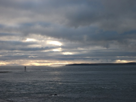 Scotland from South Ronaldsay Bell