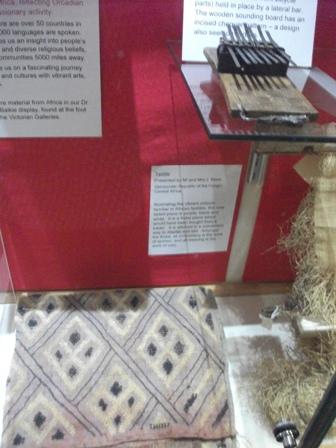 Stromness Museum African textiles