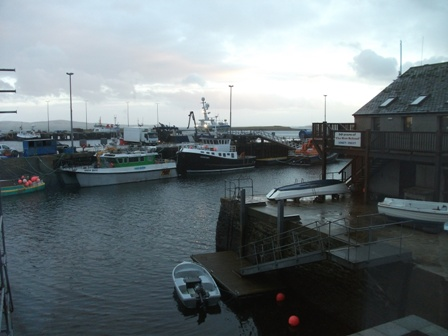 Stromness from the Pier Arts Centre B Bell