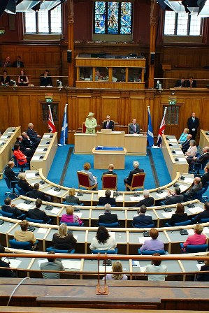 Scottish Parliament in 2003