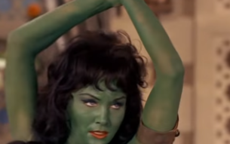 Star Trek The Cage Green Woman
