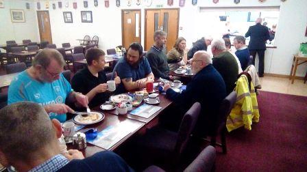 veteran breakfast 2 birthday